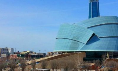 New Canadian Museum of Human Rights Open in Winnipeg