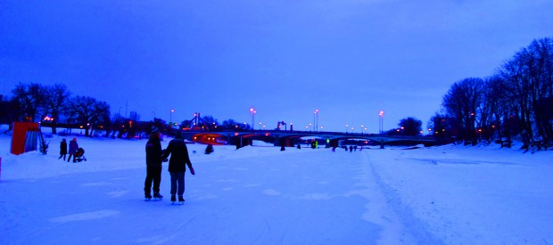 Winnipeg's Frozen Rivers Offer Seriously Cool Winter Experiences