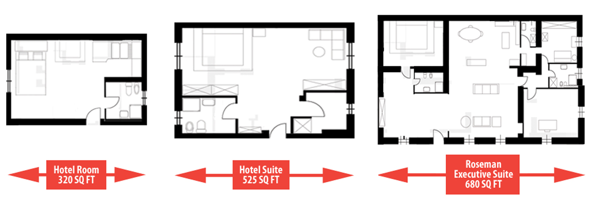 room sizes floor plan